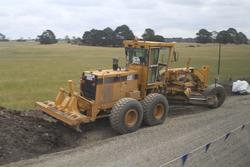 Site clearance works underway at the down end of the new Ballan Loop