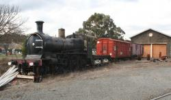 Stored D3 at Ballarat East depot