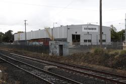 New shed for VLocity maintenance at Ballarat East, operated by Bombardier