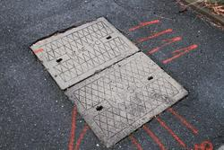 July 11, 2019 - 'V/Line' and 'VR' branded manhole covers