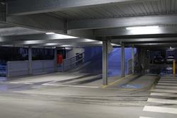 Ground floor of the new multi storey car park