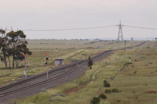Site of the future Caroline Springs railway station