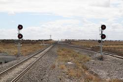 Signals DPW730 and DPW732 at the down end of Caroline Springs