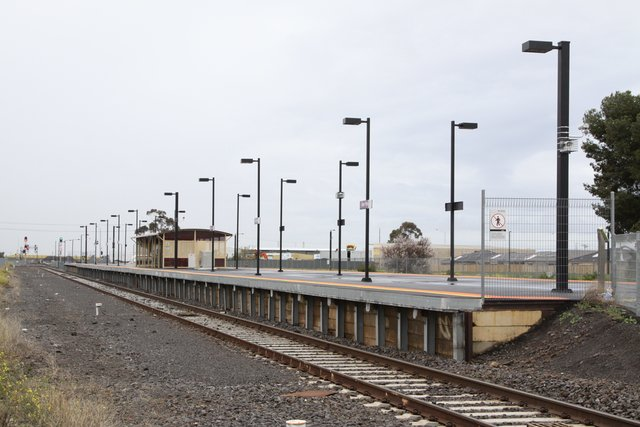 Refurbished station at Deer Park