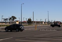 Expanded car park on the north-east side of the station