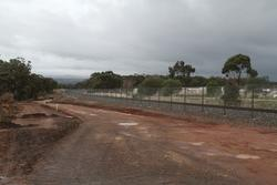 Track duplication north of Kerrs Road in Maddingley
