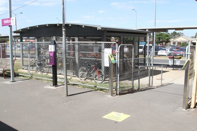 Parkitee cage at Melton station