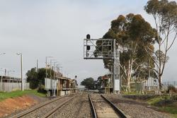 Up end of Melton staiton