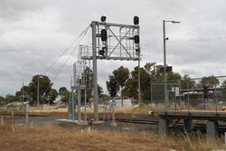 Up signals MEL712 and MEL710 dark but still in place