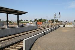 Platform extensions at the up end