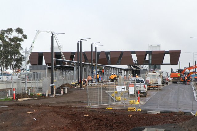 Work underway for the new northern car park