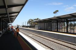 Rockbank: Applying the finishing touches to the new station