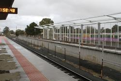 Wendouree: New second platform taking shape