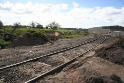 Apex Quarry: Curve to the mainline