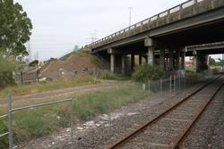 Widening the twin freeway overpasses as part of the West Gate Tunnel project