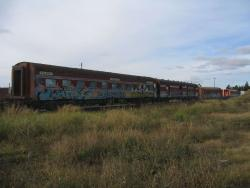 Privately owned carriages stored at South Geelong