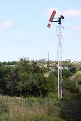 Home signal for up trains approaching Lakers Siding