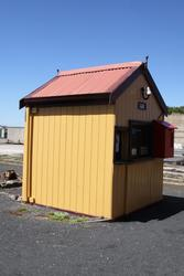 Post and Telegraph office at Lakers Siding