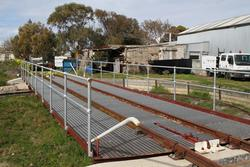 Turntable at Queenscliff station