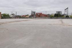 Albert Street to Middle Footscray: Demolished warehouses at 94-104 Buckley Street