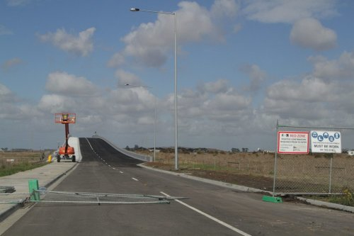 Christies Road extension almost ready to be opened