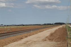 RRL tracks heads south, parallel to the Christies Road extension