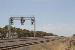 Signals G1281 and GG1281 now redressed as home signals