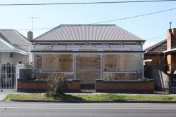 Compulsorily acquired properties at Middle Footscray