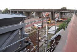 Work continues around the Dynon Road overpass