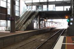 Tracks complete in Southern Cross platform 15