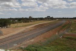 Permanent fences around the rail corridor completed at Davis Road