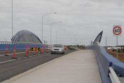 Road over rail bridge at Derrimut Road now open