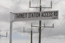 Such a lovely street name - 'Tarneit Station Access Road'