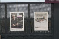 PTV and V/Line promotional posters