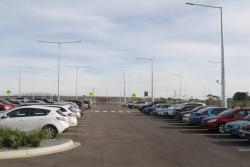 South-east end of the Tarneit station car park