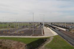 Northern car park at Tarneit station