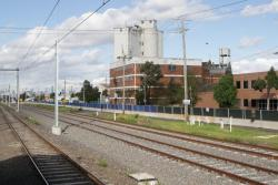 RRL track pair in place between West Footscray and Tottenham