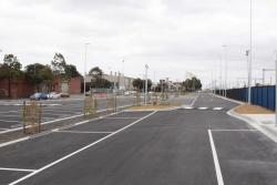 Brand new carpark at West Footscray station