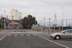 Brand new carpark at West Footscray, located a bit to the west, beside the future station site