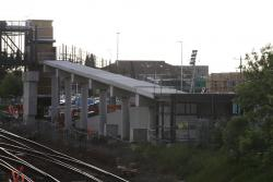 West Footscray: Ramps to the northern side of the new station footbridge