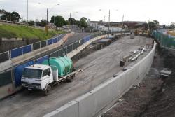 West Footscray: Realigning Buckley Street beneath Geelong Road to make room for the RRL tracks