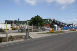 West Footscray: Northern side of the station viewed from Cross Street