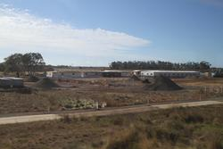 Site offices in place at the Wyndham Vale stabling yard site