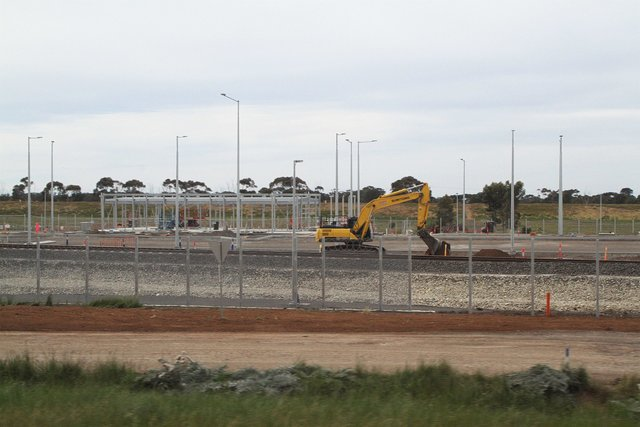 Buildings for train crews taking shape