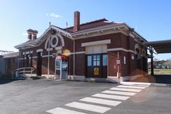 Street side of Dimboola station