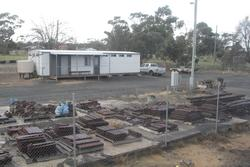 ARTC works depot at Dimboola