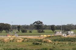 Road entry to the Dimboola GrainFlow site