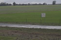 'You are now entering South Australia' sign on Wolseley Road