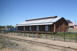 Stawell: Goods shed now restored for public use