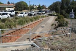 Stawell: Pedestrian underpass beside the Seaby Street level crossing